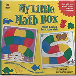 Ideal My Little Math Box (Match, Count, Subtract, and More) Math Games