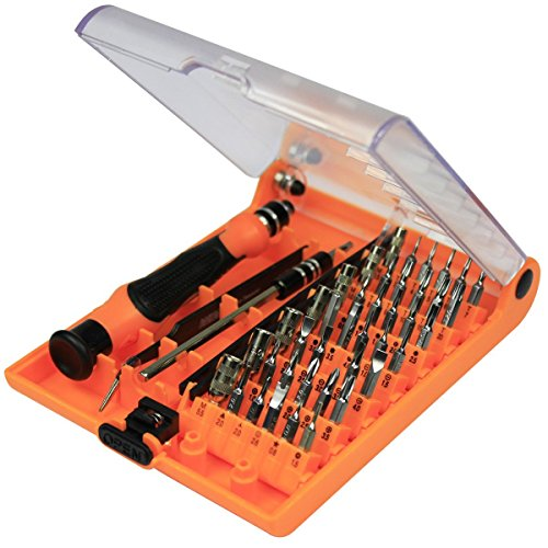 MCLLROY™ NEW 45in1 Multipurpose Repair Tools Kit Screwdrivers, Ideal for Cell phones, Computers, , Laptops, MacBook, MacBook Air, MacBook Pro, Shavers and other Devices (45IN 1A) (Trades Pro Tools compare prices)