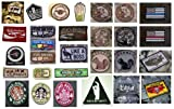 Tactical Military Morale Hook & Loop Velcro Patches - 20+ Choices