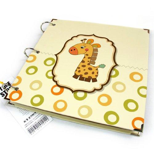 "10X10"" Scrapbook Baby Photo Album Cartoon Giraffe front-826706"