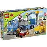 Lego - 5652 - Jeux de construction - lego duplo legoville - La construction de routes
