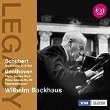 Schubert: Impromptu in B flat - Beethoven: Piano Sonatas Nos. 6 & 29
