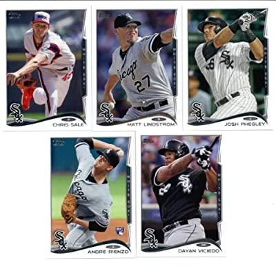 2010,2011,2012,2013 & 2014 Topps Chicago White Sox Baseball Card Team Sets (Complete Series 1 & 2 From All Five Years) Includes Jose Abreu Rookie Card