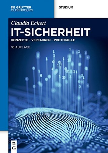 It-sicherheit: Konzepte - Verfahren - Protokolle (De Gruyter Studium)  [Eckert, Claudia] (Tapa Dura)