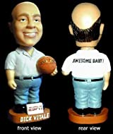 Anaconda Sports® BOBBLE-DV-ROCK Dick Vitale Ceramic Bobblehead with The Rock® Logo