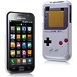 MaryCom PREMIUM QUALITÄT Nintendo Game Boy Style Hartschale weis für Samsung Galaxy S i9000 und Samsung Galaxy S Plus i9001 Smartphone