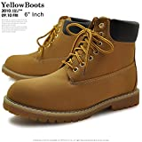 【GOD&BLESS】 イエローブーツ《メンズ》GB-3126N《25cm~28cm》靴・シューズ (27.5cm)