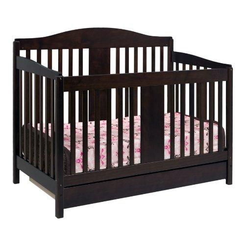 DaVinci Richmond 4 in 1 Convertable Crib with Toddler Rail, Espresso