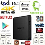 GM-T95X-Android-60-TV-Box-2G16G-Amlogic-S905X-64-Bits-et-Rel-4K-Enjouement-Streaming-Mdia-Player