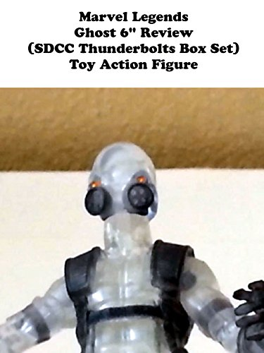 "Marvel Legends GHOST 6"" Review (SDCC Thunderbolts box set) toy action figure"