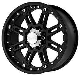 Black Rhino Wheels Rockwell Series Matte Black Wheel (17×9″/6x135mm)