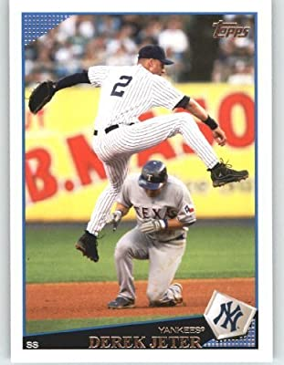 2009 Topps Baseball Card # 353 Derek Jeter - New York Yankees - MLB Trading Card