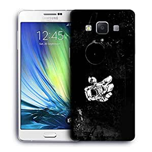 Snoogg Astronaut Designer Protective Phone Back Case Cover For Samsung Galaxy A7