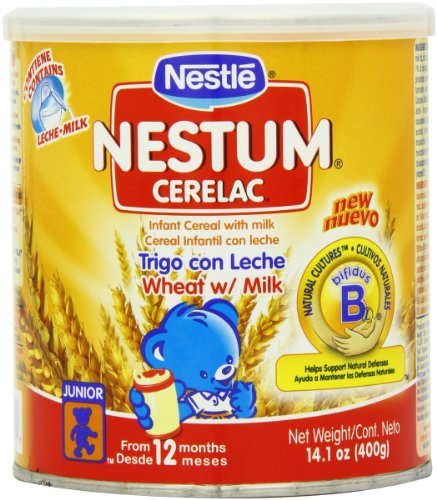 Nestle Cerealac Wheat with Milk Cereal, 400-Grams (Pack of 4) - 1