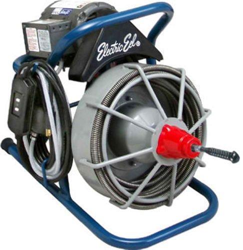 New Electric Eel Ek-R-1/2Ic50 Heavy Duty 20' Power Cord Sewer Drain Cleaner