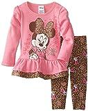 Disney Baby-Girls Infant Minnie Mouse 2 Piece Fleece Legging Set