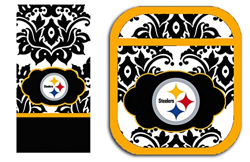 Pittsburgh Steelers Pot Holder and Towel Set from Team Sports America