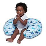 Boppy-Nursing-Pillow-and-Positioner-Whale-Blue-0-12-Months