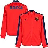 Nike FC Barcelona Authentic N98Men's Tracksuit Jacket Red Light Crimson/Loyal Blue Size:Large