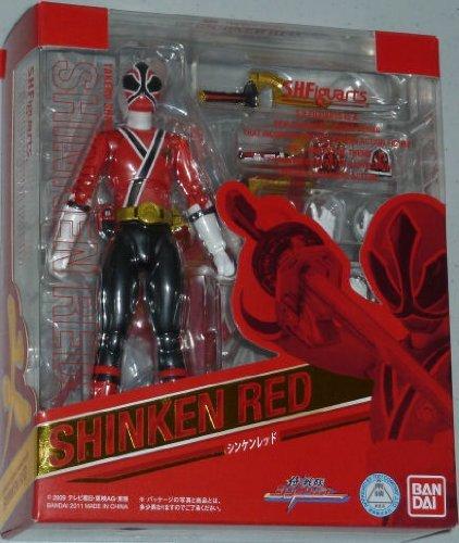 Power Rangers Samurai S.H.Figuarts Exclusive 6 Inch Action Figure Shinken Red