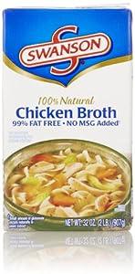 Swanson Chicken Broth, 32 Fl Oz