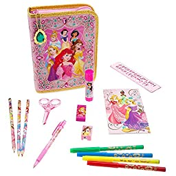Disney Store Princess Zip-Up Stationery Kit