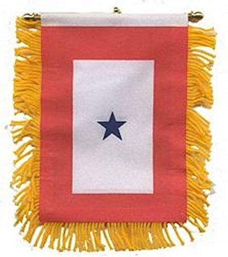 MINI Family Member Military Service Banner (1 Blue Star) - 1