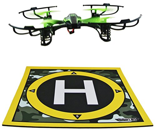 Heliport Ops Landing Pad Launch Pad: Remote Control Helicopters, Quadcopters, Mini Racing Drones, Multi-rotor flight with Camera (Advanced Remote Helicopter compare prices)