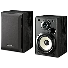 Refurbished Sony SS B1000 Bookshelf Speakers 3995 At The Outlet