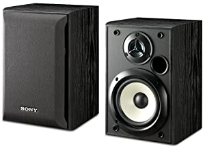 Sony SS-B1000 5-1/4-Inch Bookshelf Speakers (Pair)