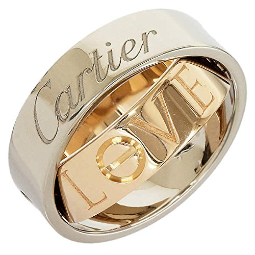 (カルティエ)Cartier シークレット ラブリング 9号(49) K18WGPG 中古