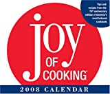 JOY OF COOKING 2008 DTD CALENDAR