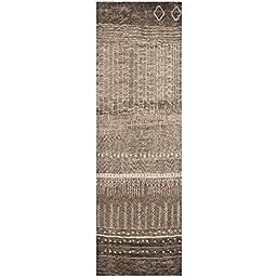 Safavieh Tunisia Collection TUN1711-KHV Brown Runner, 2 feet 6 inches by 6 feet (2\'6\