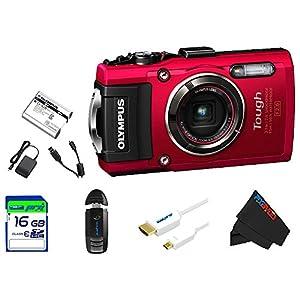 Olympus Waterproof Digital Camera with 4x OIS Zoom