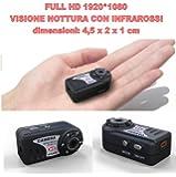 SUNDREAM® Full HD 1080P Mini cámara espia con la visión nocturna del IR-SPY Videocámara