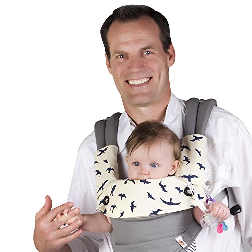 Drool & Teething Pad for Ergobaby Four Position 360 Baby Carrier, 3 Piece Set (Ergo Baby Carrier Four Position compare prices)