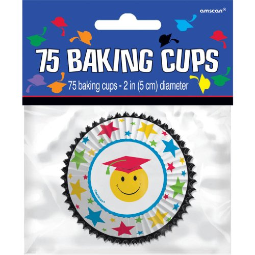 Happy Face Graduation Cupcake Combo Pack