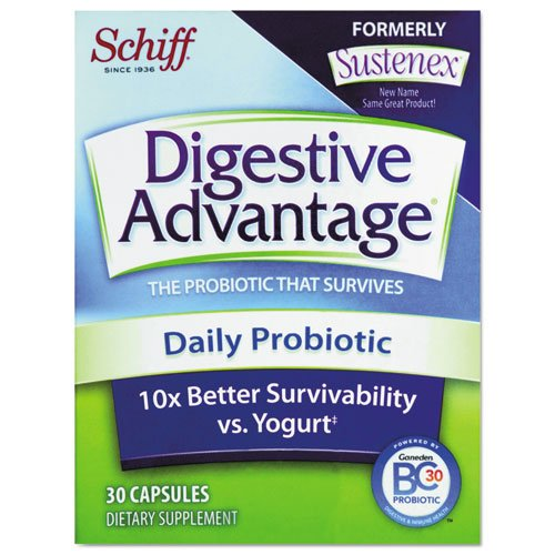 Digestive Advantage - Daily Probiotic Capsule, 30 Count 00166 (Dmi Ea