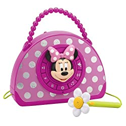 Minnie Mouse Voice Changing Boombox pink