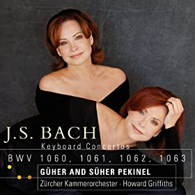 Bach, JS : Concerto for 2 Keyboards in C major BWV1061 : III Fuga