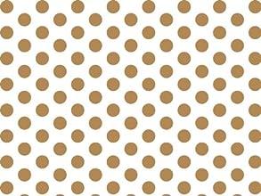Gold amp White Polka Dots Tissue Paper 20 X 30 - 24 Sheets
