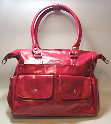Namaste Harlow Handbag Shoulder Bag Raspberry Vegan Purse Tote from Namaste