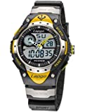 HighQuality PASNEW Water-proof Dual Time Boys Girls Sport Watch N2