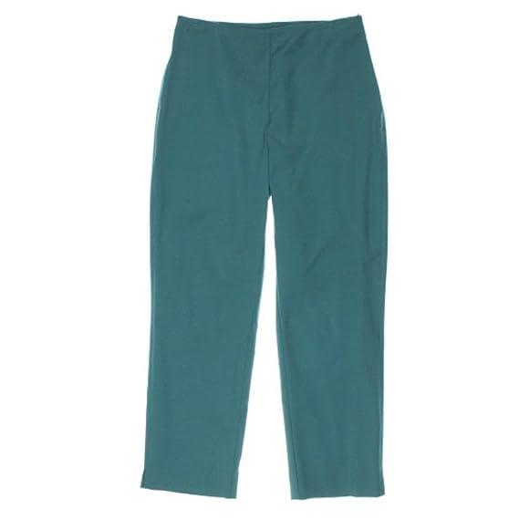 St John Womens Sateen Side Zip Ankle Pants