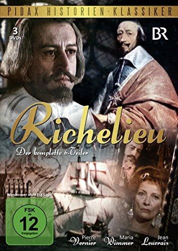 Richelieu - die komplette Serie [3 DVDs] [Edizione: Germania]