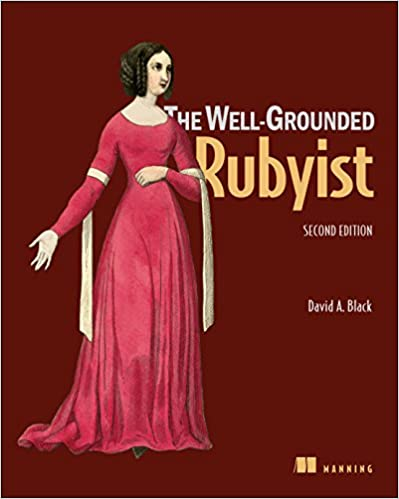 The Well Grounded Rubyist, 2nd edition cover
