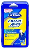 Dr. Scholl's® Freeze Away® is an OTC freezing treatment similar to the one used by doctors; removes warts fast with as few as 1 treatment, box of 7 treatments.