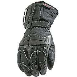 Joe Rocket Rush Men's Leather Street Motorcycle Gloves - Black