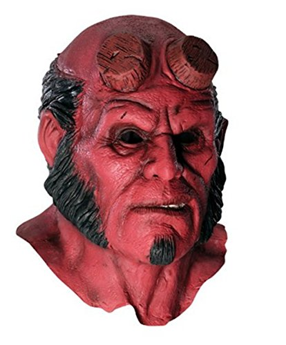 OM(TM) Hellboy II The Golden Army Adult Overhead Deluxe Latex Mask