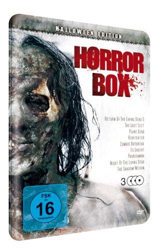 Horrorbox ltd. Halloween-Edition (3 DVD Metallbox)